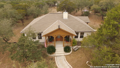 Bandera County Single Family Home Price Change: 256 Spotted Horse