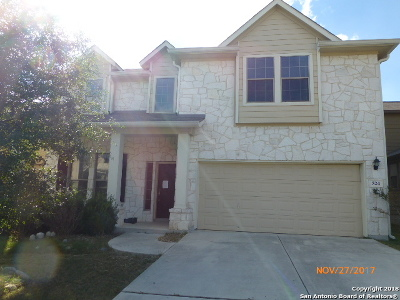 Cibolo Single Family Home Back on Market: 524 Brook Shadow