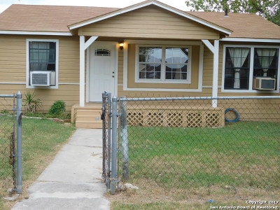 Single Family Home For Sale: 1411 Delgado St