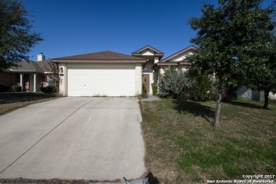 Converse Single Family Home Back on Market: 8427 Pigeonberry Dr