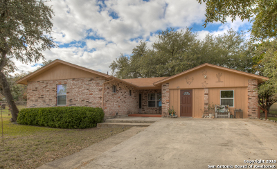 Canyon Lake Single Family Home Price Change: 119 Cliffwood