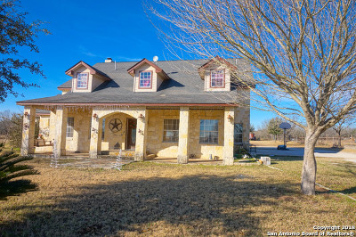 Bexar County Single Family Home For Sale: 17335 Shepherd Rd