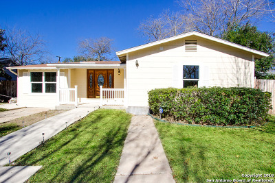 San Antonio Single Family Home Price Change: 243 Brees Blvd