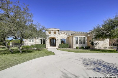Fair Oaks Ranch Single Family Home New: 68 Brook Ridge