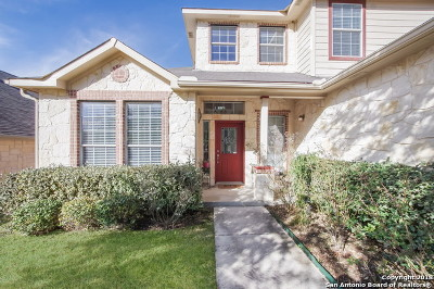 Boerne Single Family Home New: 7623 Mission Ledge
