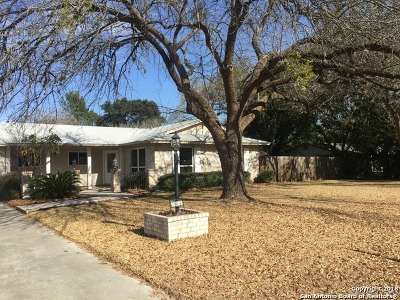 Helotes Single Family Home New: 10503 Bar X Trl