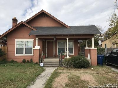 Single Family Home For Sale: 823 Viendo