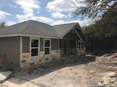 Spring Branch Single Family Home For Sale: 1518 Bob White