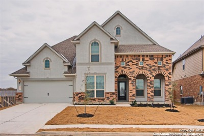 Cibolo Single Family Home New: 472 Turning Stone