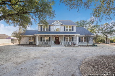 Boerne TX Single Family Home New: $499,900