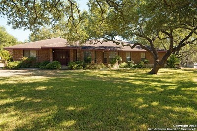 Boerne Single Family Home New: 8507 Triple Crown