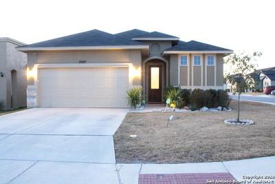 Converse Single Family Home New: 3967 Bogie Way