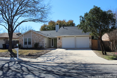 San Antonio Single Family Home Back on Market: 2806 Burning Hill St