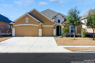 Cibolo Single Family Home Back on Market: 925 Miraflores