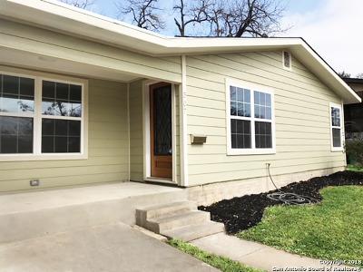 Single Family Home For Sale: 507 Mebane St