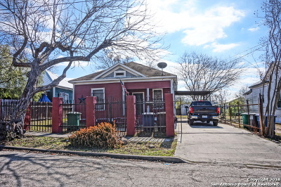 San Antonio Single Family Home Back on Market: 1110 Wyoming St