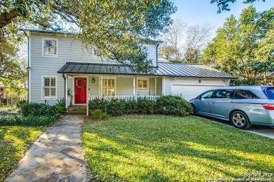 Terrell Hills Single Family Home For Sale: 420 Ridgemont Ave