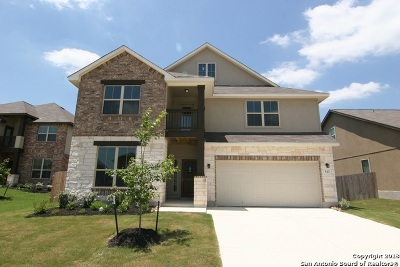Guadalupe County Single Family Home New: 513 Saddle Villa