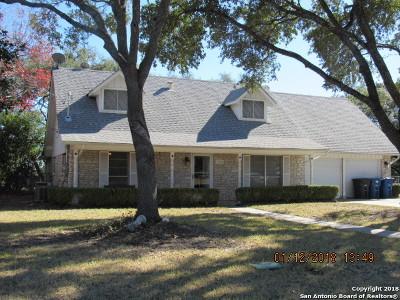 Bexar County Single Family Home Price Change: 7750 Green Glen Dr