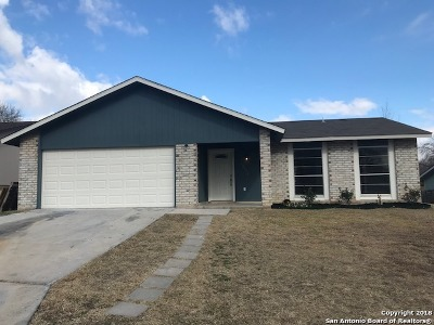 San Antonio TX Single Family Home New: $169,000