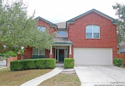 Helotes Single Family Home New: 11238 Ocate