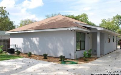San Antonio Multi Family Home Back on Market: 1721 Quintana Rd