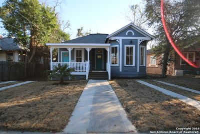 San Antonio Single Family Home New: 510 E Mistletoe Ave