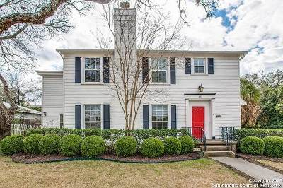 Terrell Hills Single Family Home Price Change: 402 Garraty Rd