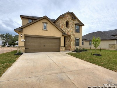 San Antonio Single Family Home New: 13852 Tribeca