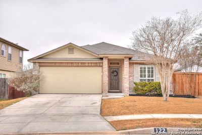 Guadalupe County Single Family Home New: 122 Arcadia Pl