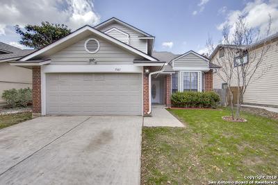 San Antonio Single Family Home New: 7567 Autumn Park Dr