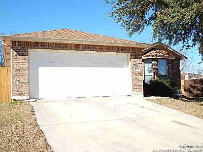 San Antonio Single Family Home New: 603 Heritage Way