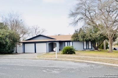 San Antonio Single Family Home Price Change: 6207 Charlottesville St