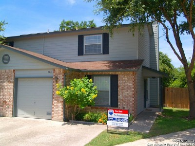San Antonio Single Family Home New: 7911 Rustic Park #7911