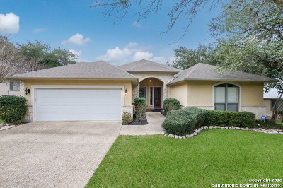 San Antonio Single Family Home New: 18206 Emerald Forest Dr