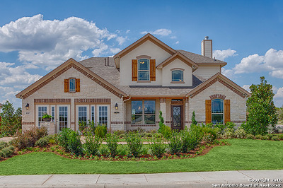 San Antonio Single Family Home New: 8885 Highland Dawn