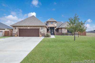Guadalupe County Single Family Home New: 663 Oak Creek Pkwy