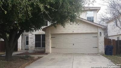 Selma Single Family Home For Sale: 15314 Winged Foot