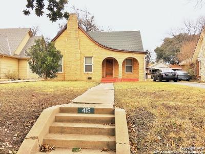San Antonio TX Single Family Home New: $149,950