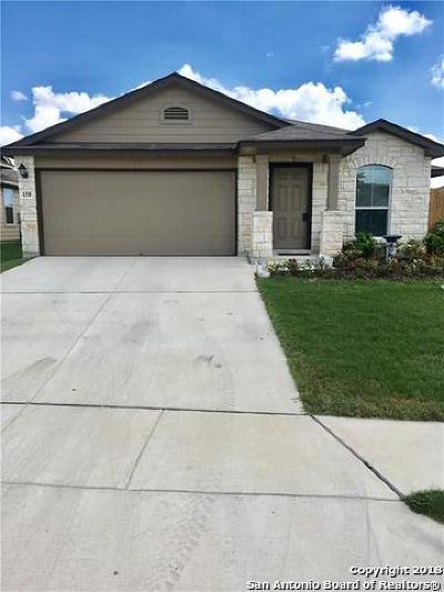 San Marcos Single Family Home For Sale: 158 Cazador Dr