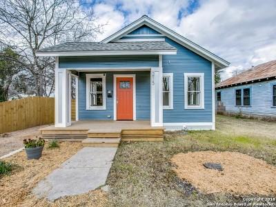 Single Family Home Price Change: 215 Blaine