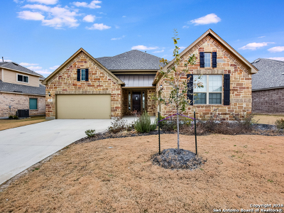 Kendall County Single Family Home New: 208 Woods Of Boerne Blvd