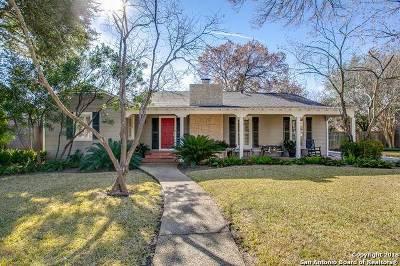 Alamo Heights Single Family Home New: 136 E Oakview Pl