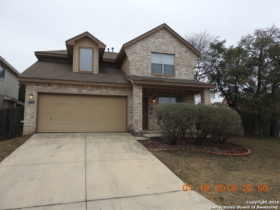 Bexar County Single Family Home For Sale: 13734 Tramonto Hl