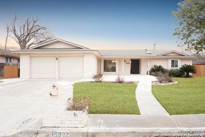 San Antonio Single Family Home New: 15802 Horse Creek St