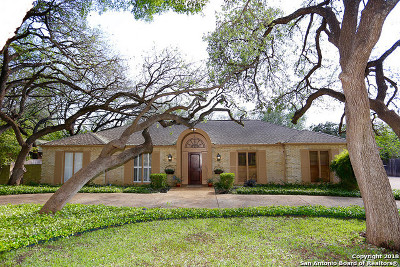 San Antonio Single Family Home New: 3606 Marymont Dr