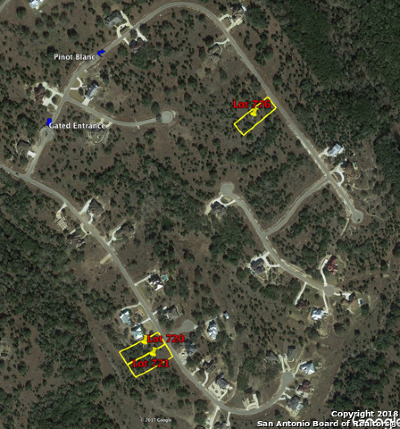 New Braunfels Residential Lots & Land Back on Market: 2269 Pinot Blanc