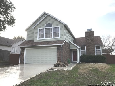San Antonio TX Single Family Home New: $170,000