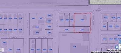 Bexar County Residential Lots & Land For Sale: 1138 Sherman