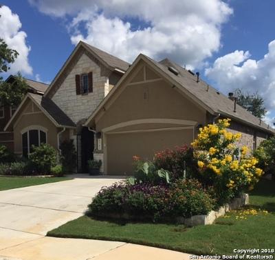 San Antonio Single Family Home For Sale: 22702 Allegro Creek